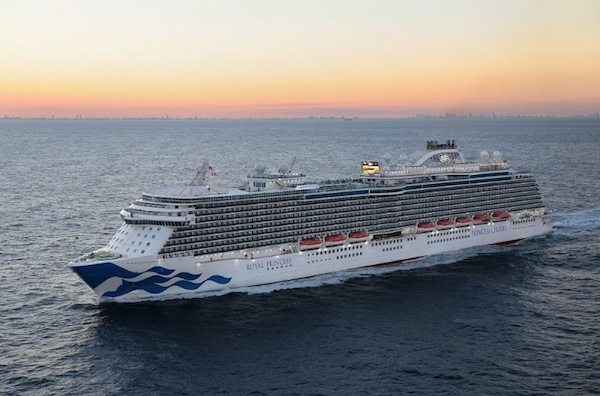 Royal Princess Heads to New Home in 100 Days