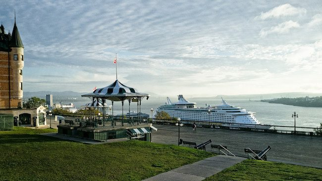Québec City Reports Record Cruise Year