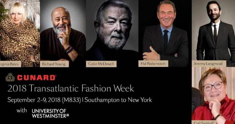 Details on Cunard's Special Fashion Week Cruise Unveiled