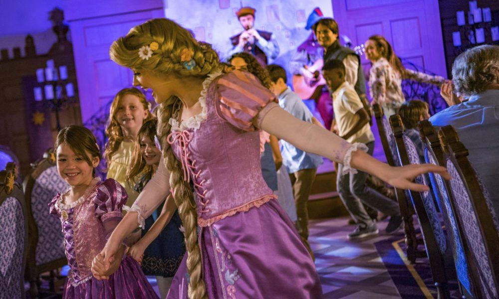 Disney Magic Debuts Rapunzel-Themed Restaurant