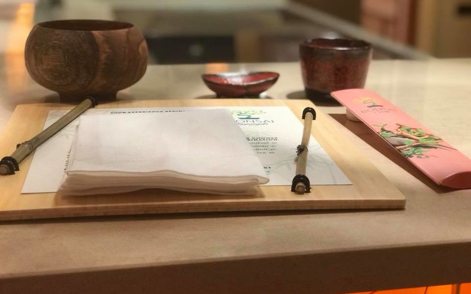 Menu: Carnival Horizon's Bonsai Teppanyaki