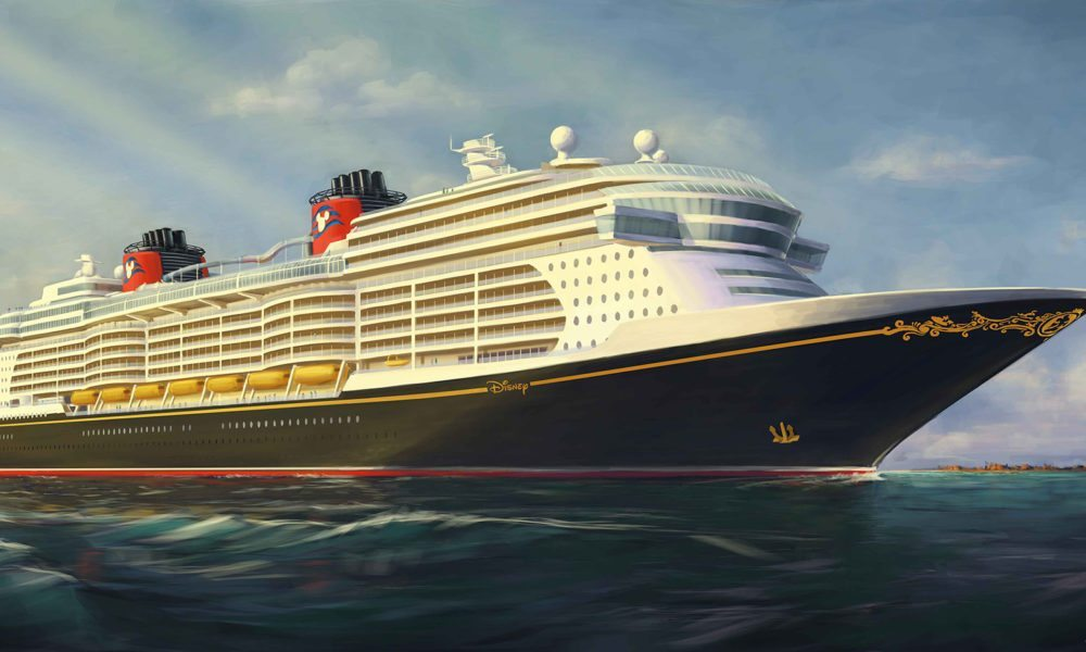 Disney Reveals New Cruise Ship Rendering