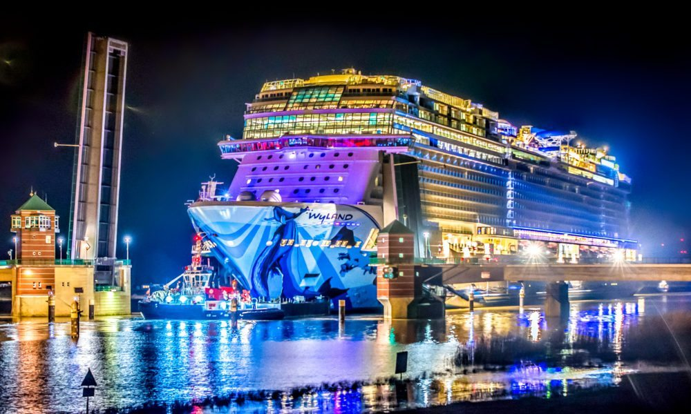 Norwegian Cruise Line Takes Delivery of Newest Ship