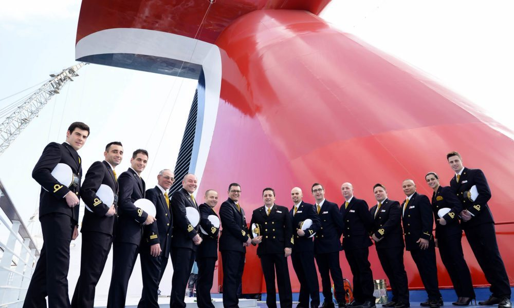 Big Day For Carnival's New Cruise Ship