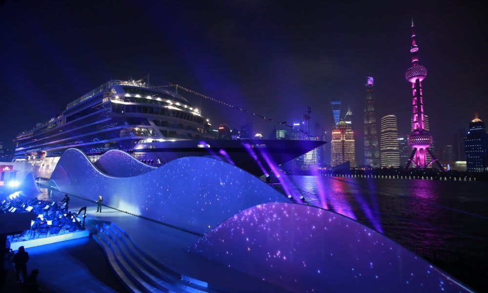 Viking's New Ocean Ship Named in China