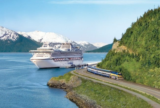 Sapphire Princess Emerges From Dry Dock With Big Upgrades