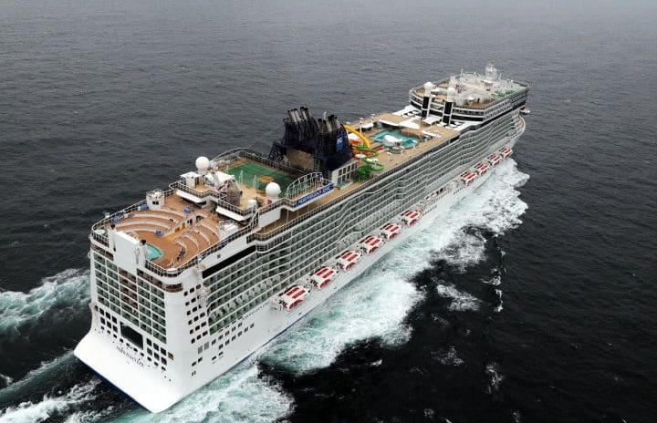 Woman Survives Fall Off Cruise Ship