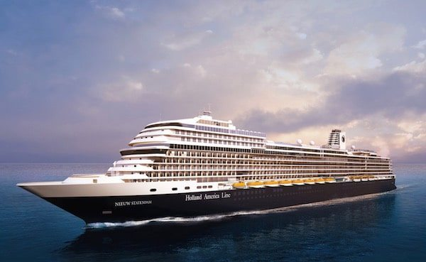 Win a Seven Day Cruise on New Holland America Ship