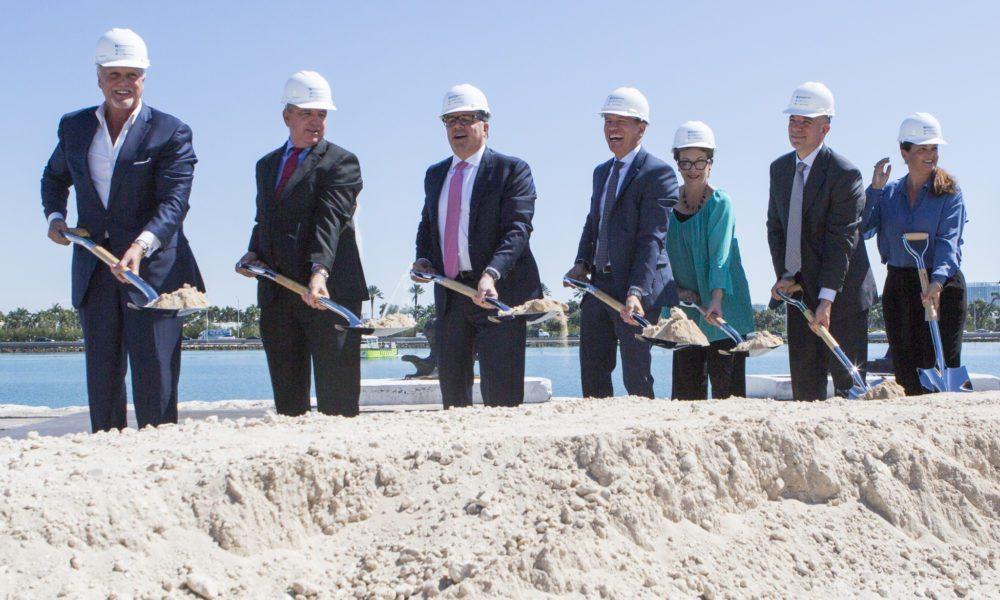 Norwegian Breaks Ground on New Miami Terminal