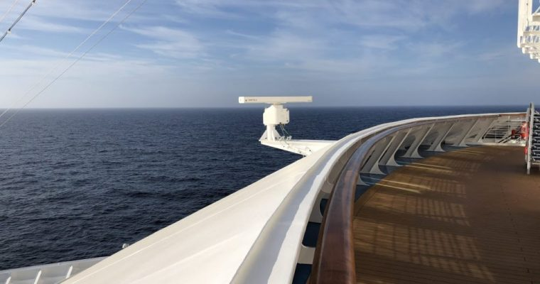 Carnival Horizon at Sea – Day 2
