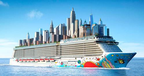 Cruisers Say Farewell To The Norwegian Breakaway