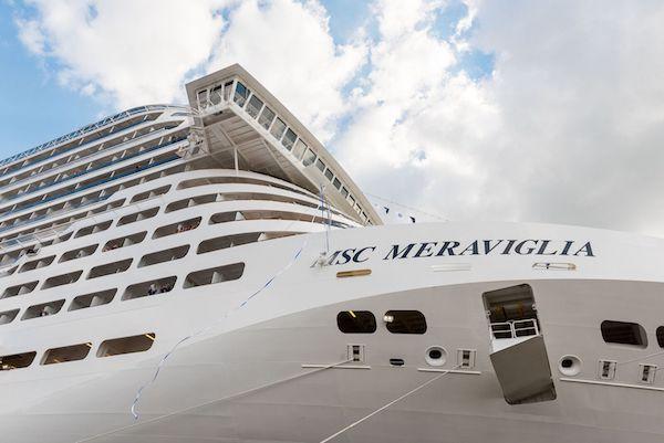MSC Meraviglia Review + Cruise News