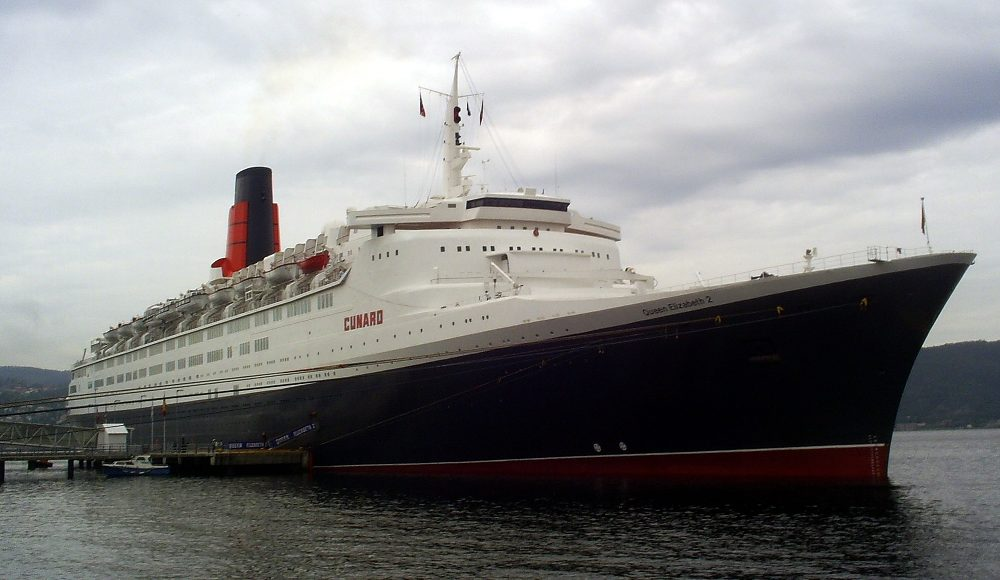 Cunard Guests to be First to Board Queen Elizabeth 2 Hotel