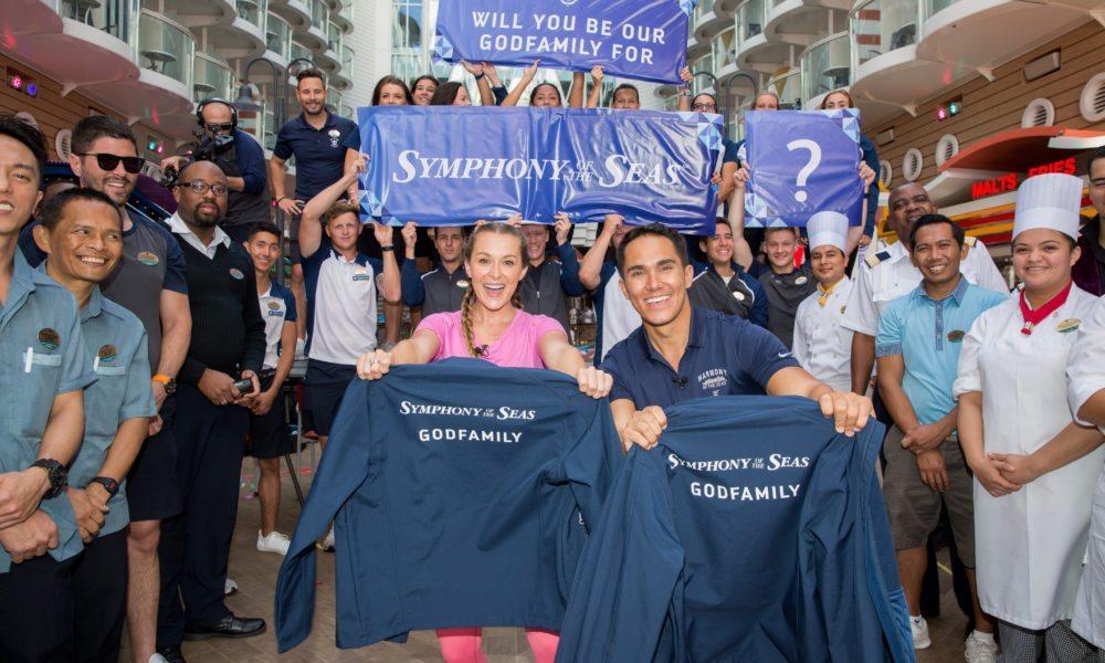 Royal Caribbean Names First-Ever 'Godfamily' of Ship