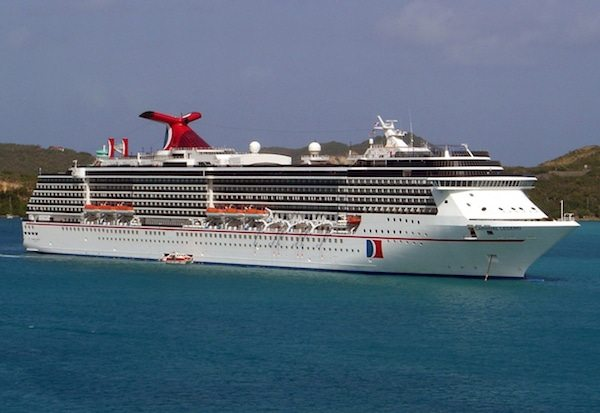 Carnival Cruise Ship Stirs Up Excitement