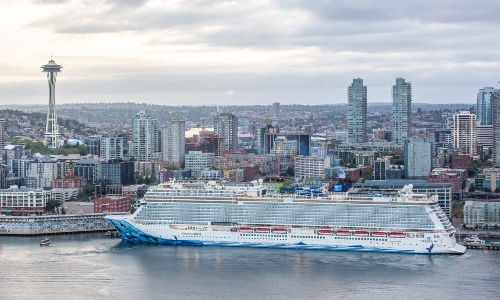 New Norwegian Ship is Largest to Be Christened in Seattle