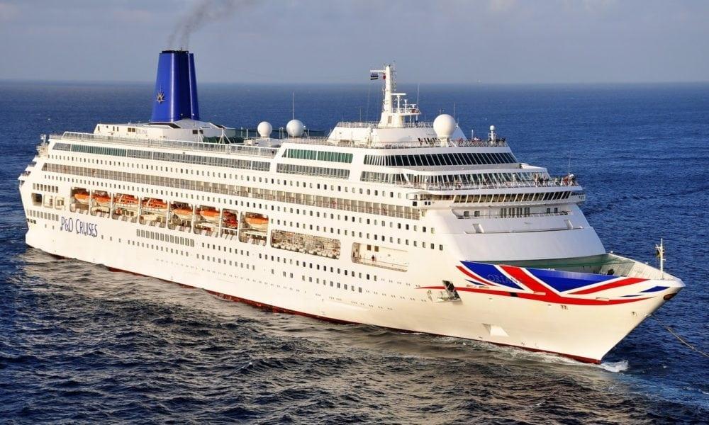 Classic Cruise Ship Leaving Carnival Family