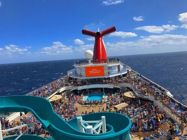 Carnival Cruise Line is Offering $49 Reduced Deposits