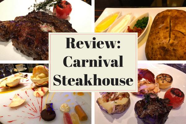 Carnival Cruise Line Steakhouse Fahrenheit 555
