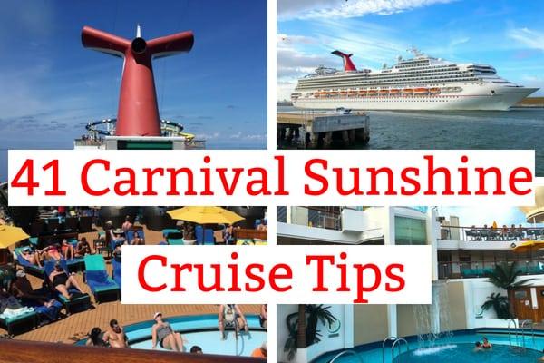 41 Carnival Sunshine Tips and Secrets