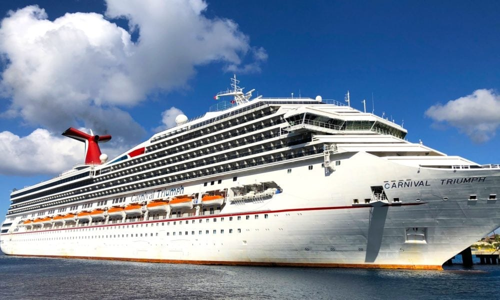 Carnival Cruise Launches $50 Cyber Monday Deals