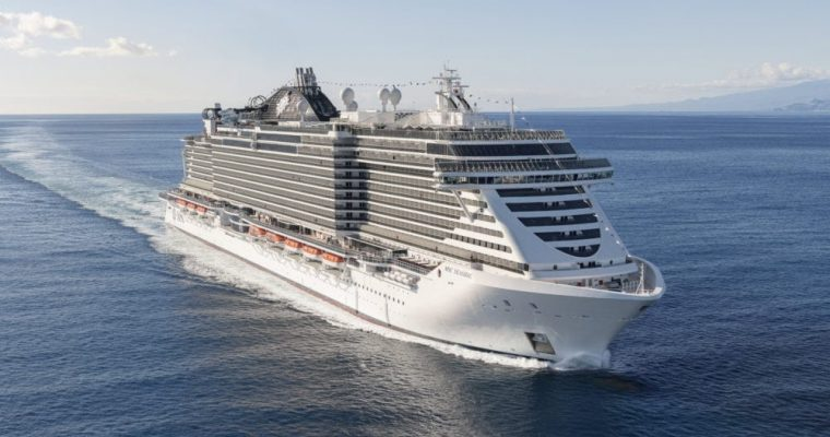 MSC Cruises to Eliminate Most Single-Use Plastics Fleetwide