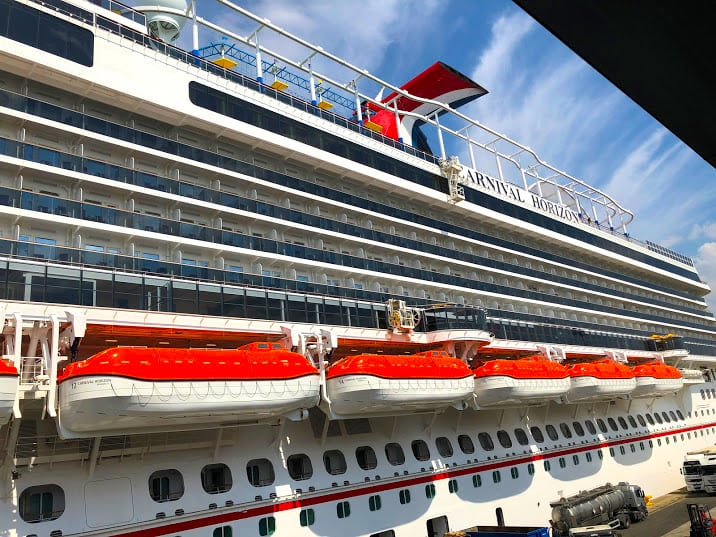 Carnival Horizon Forced to Cancel Port