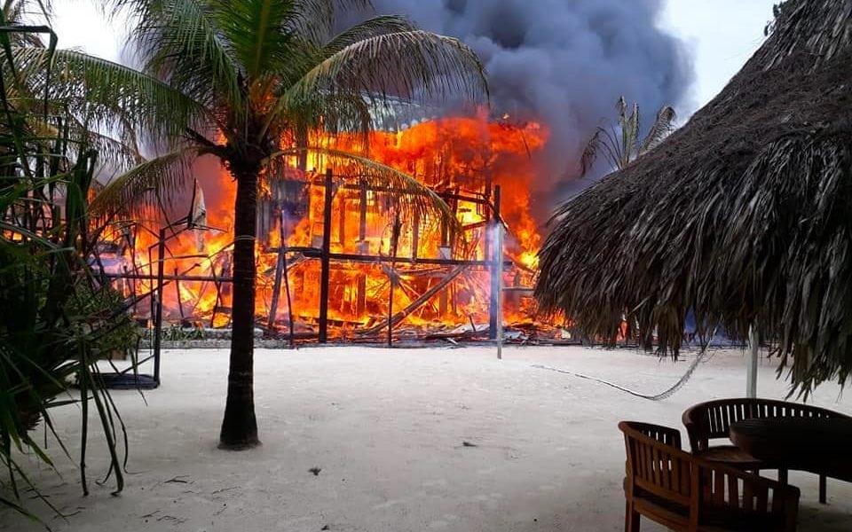 Fire Destroys Popular Caribbean Cruise Destination