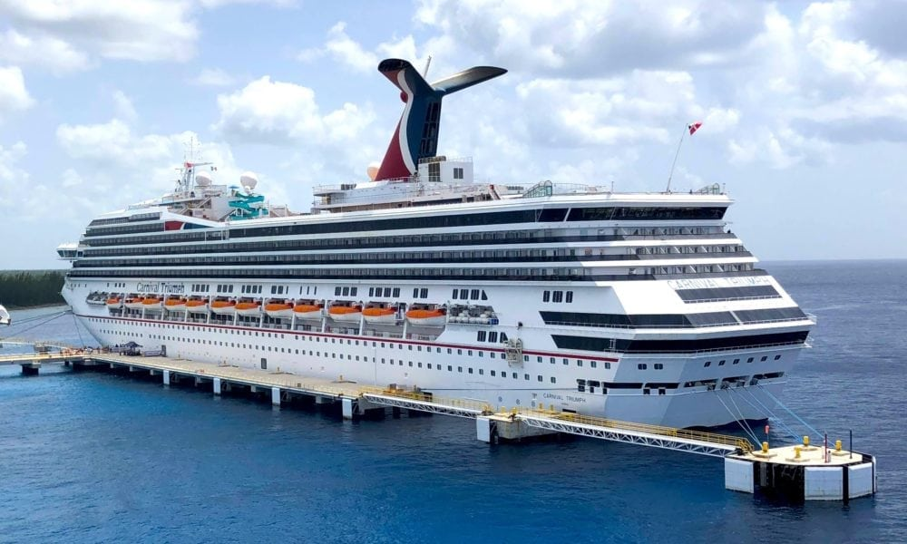 Woman Spends 100th Birthday on Carnival Cruise