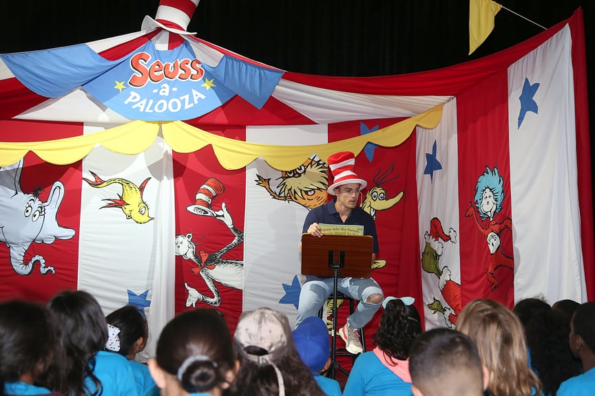 Young Carnival Cruisers Complete Dr. Seuss Reading Challenge
