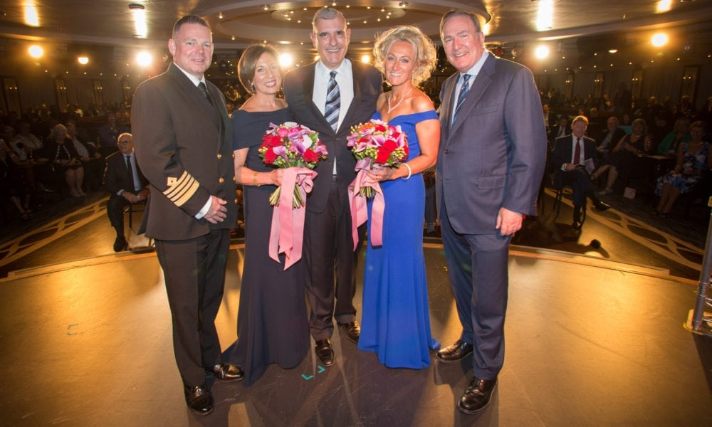 Newest Azamara Ship is Named in Southampton, England