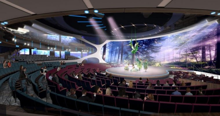 Celebrity Edge Entertainment Blurs The Line Between Stage and Audience