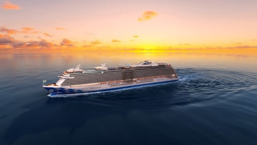 The Fifth Royal-Class Princess Cruise Ship Is Named