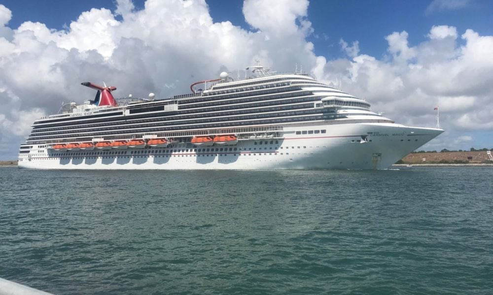 Carnival Magic Leaves Port Canaveral For Good [PHOTOS]