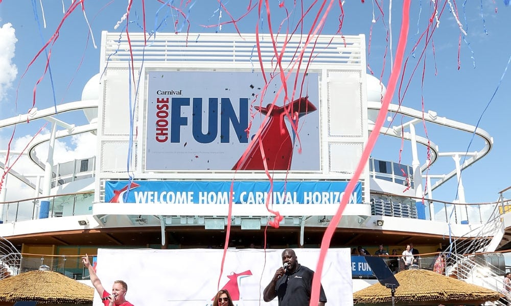 Carnival Horizon Arrives at New Home Port [Photos]