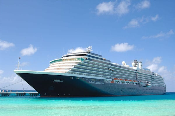 Two Holland America Ships Earn Perfect Health Score