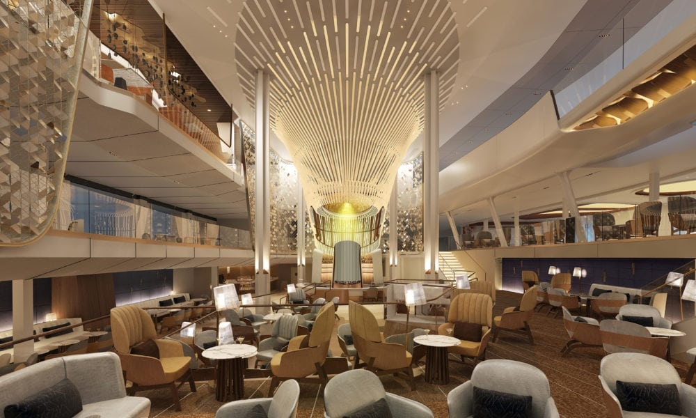 Celebrity Edge 'Grand Plaza' Atrium Revealed