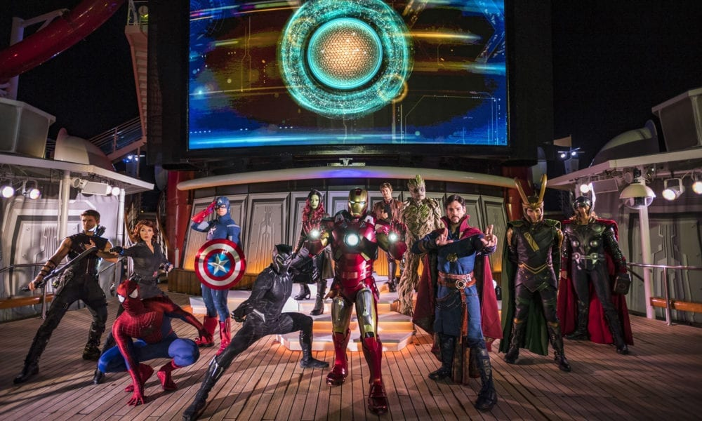 Disney's 'Marvel Day at Sea' Gets a New Superhero