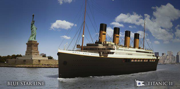 Titanic II Construction Moves Forward