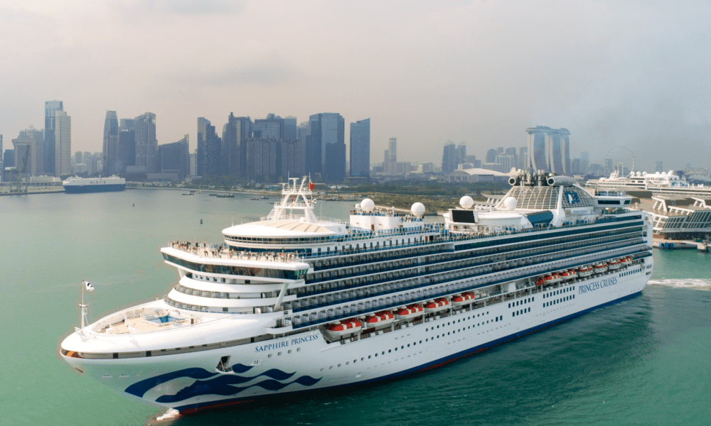 Sapphire Princess Completes First Season in Europe