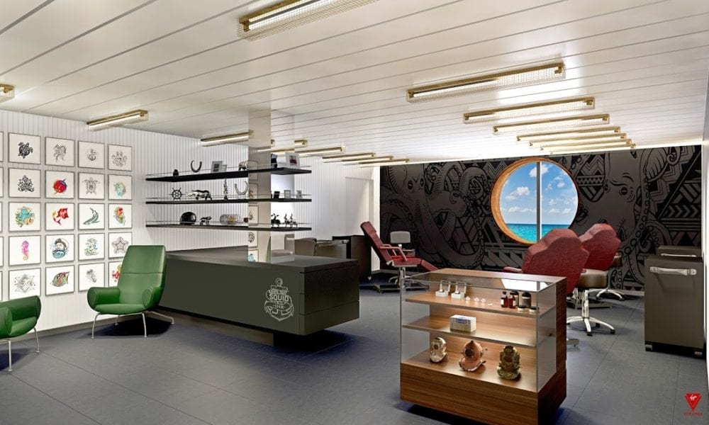 Cruise Line Launches a Tattoo Parlor at Sea