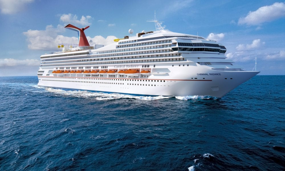 Carnival Reveals New 2020 Itineraries