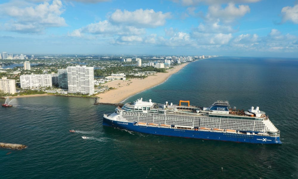 Celebrity Edge Arrives in Port Everglades