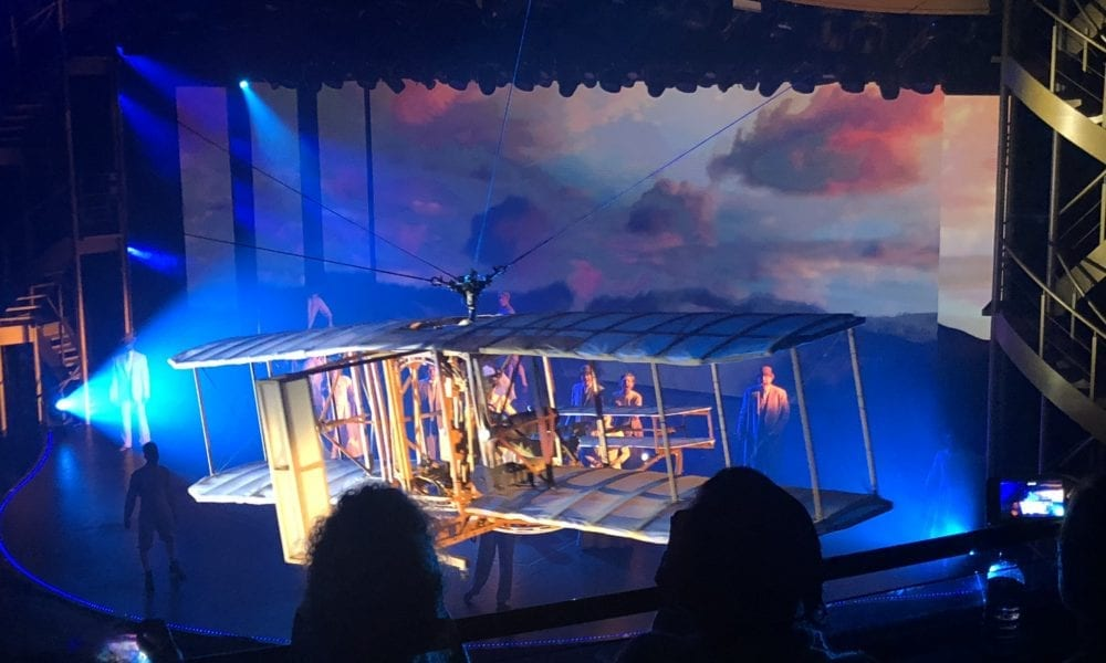 Symphony of the Seas Show Features Space Station Replica