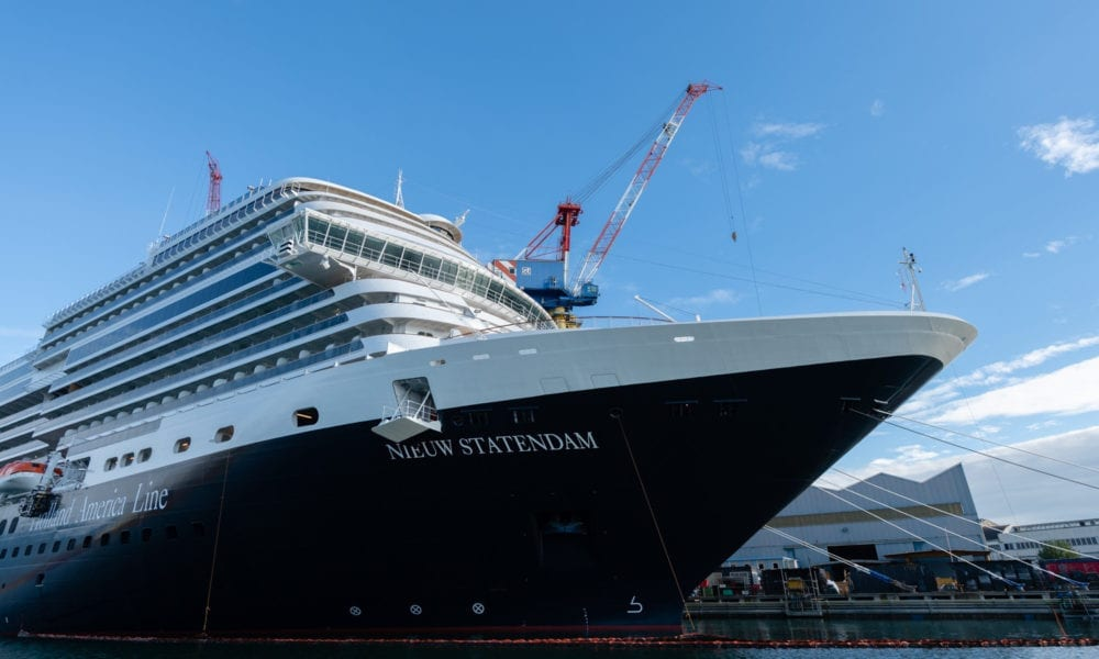 Holland America Takes Delivery of New Ship