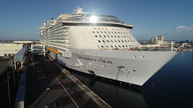 Symphony of the Seas Arrives in Port Canaveral, Continues to Miami