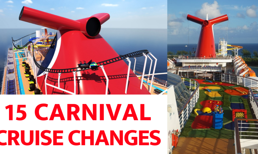 15 Changes Carnival Cruise Line Saw in 2018
