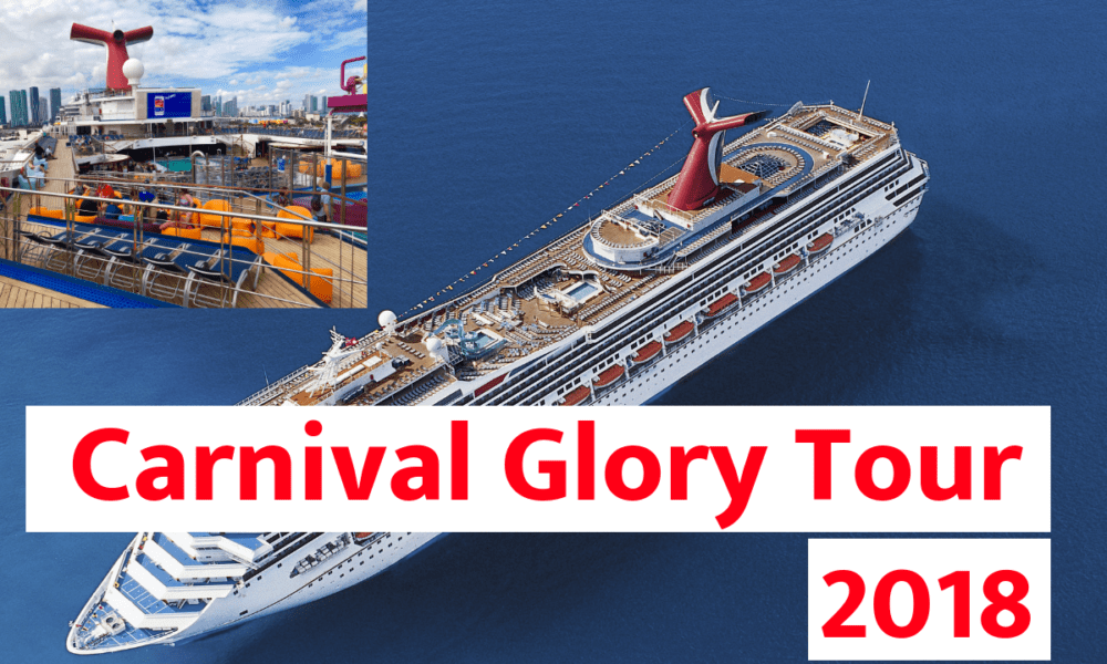 Video Tour of Carnival Glory