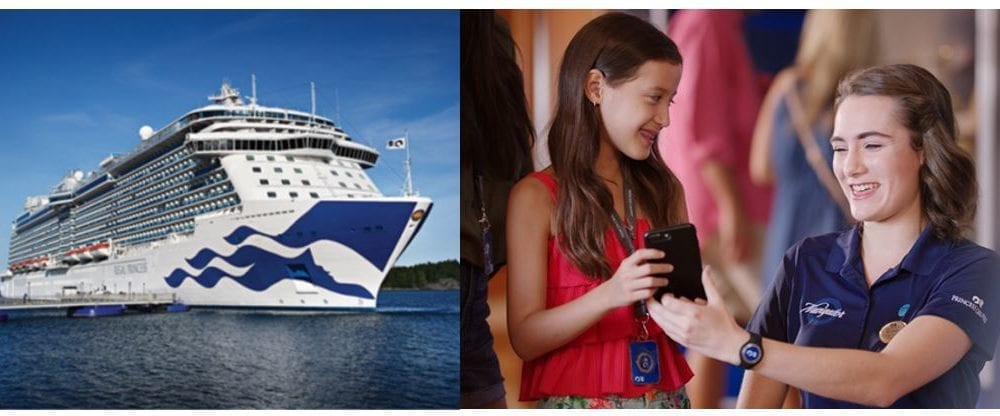 Princess Cruises Preparing Second Ship for OceanMedallion Functionality