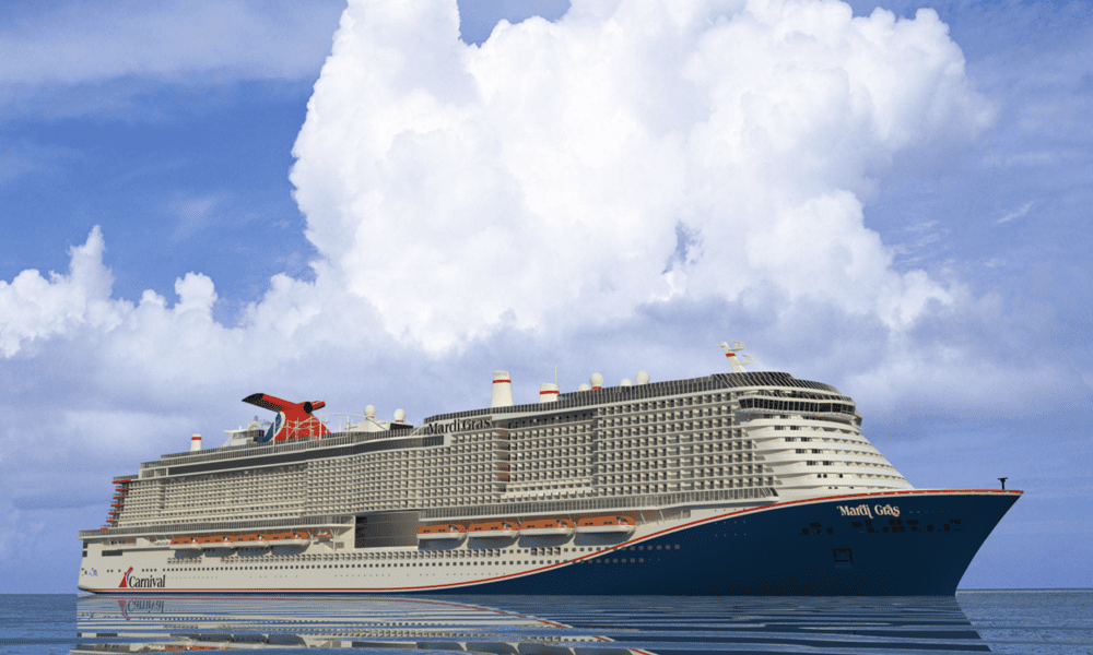 Carnival Cruise Line Names New Ship Mardi Gras